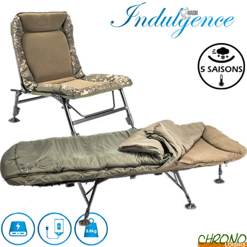 Toutes Tailles * Nash Tackle Nouvelle Version Indulgence Lit Chaise Camouflage Oreillers seulement