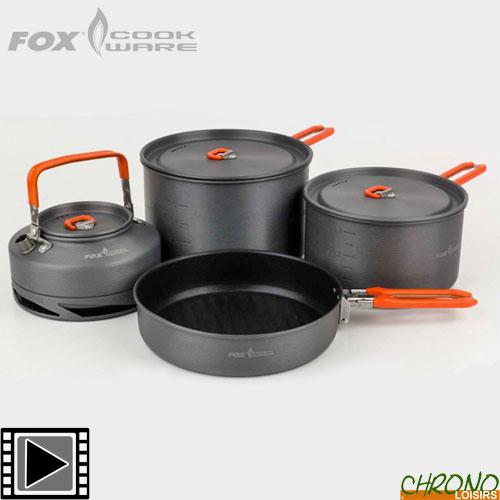 Fox Cuisine Jeux Gamme Complète Casseroles Bouilloires Plaques