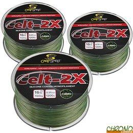 FOX NEW ADAPTIVE Camouflage Soft Steel Carp Fishing Line Monofilament All B//S